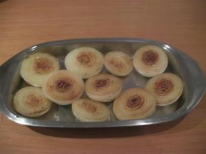 Cebollas doradas