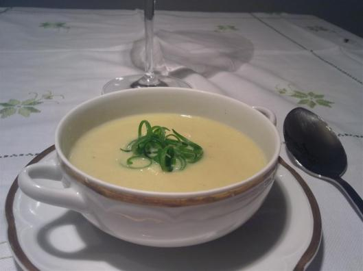 Vichyssoise de Heston Blumenthal at Home