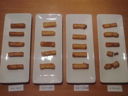 4 recetas de patatas fritas, tras la segunda fritura
