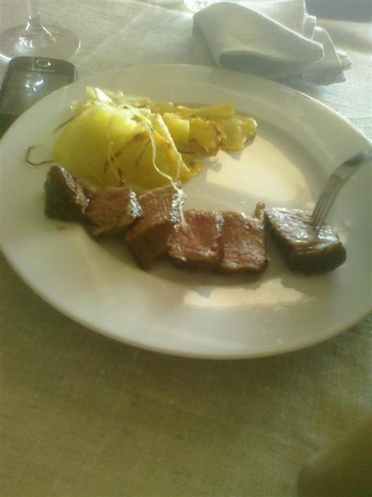 Short Ribs al vacío con patatas al horno