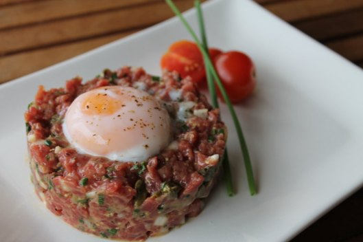 Steak tartare de secreto de buey, 1