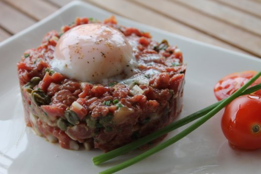 Steak tartare de secreto de buey, 2