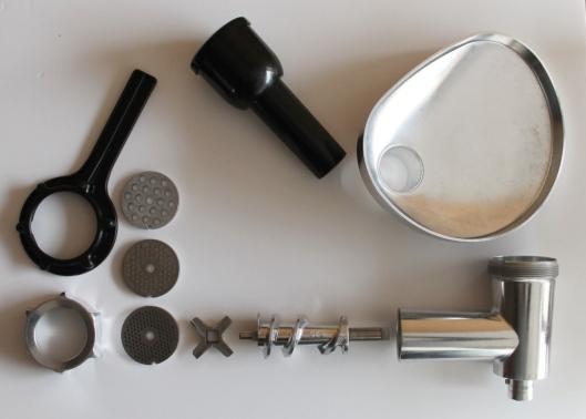 Despiece del accesorio picador de Kenwood Chef