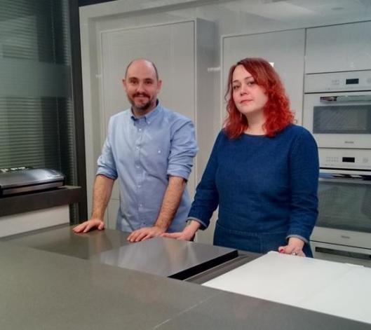 Curso de cocina al vacío, Enrique Bengoechea y Mònica Escudero